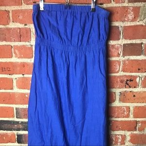 Old Navy Maxi Dress strapless
